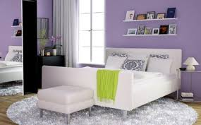 light purple bedroom ideas under bed storage brown sheer curtain