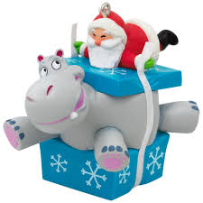 i want a hippopotamus for santa musical ornament