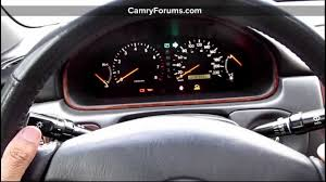toyota camry how to replace headlight stalk youtube