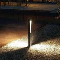 Bollard Landscape Lighting Modern Landscape Lighting And Path Deck Lights At Lumens With