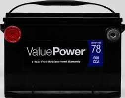 lexus rx300 battery replacement valuepower vp 78 battery 600 cca walmart com