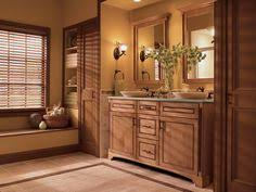 Kraftmaid Bathroom Vanity Timeless Details And A Curved Skirt Create A Traditional High End