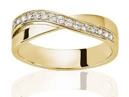 alliance de mariage alliance de mariage diamant demi tour taille diamant rond