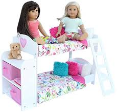 18 Inch Doll Bunk Bed Buy Bedroom Set For 18 Inch American Doll Bunk Bed