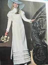 vogue wedding dress patterns edwardian style wedding dress bridal gown pattern vogue special