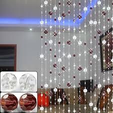 cortinas con abalorios de cristal buscar con google