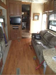 Install A Laminate Floor Laminate In Travel Trailers