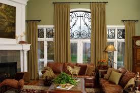 decor elegant window treatments ideas for living room design