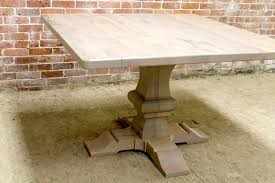 rustic square dining table 48 square reclaimed dining table pertaining to pedestal modern 19