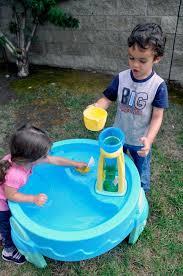 step2 waterwheel play table making a splash step2 s waterwheel play table rockin mama