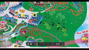 6 Flags Map Six Flags Over Georgia 2017 Prediction Outdated Youtube