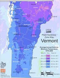 Growing Zone Map Vermont Plant Hardiness Zone Map U2022 Mapsof Net