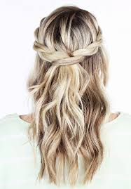 braided hairstyles with hair down 20 awesome half up half down wedding hairstyle ideas wedding