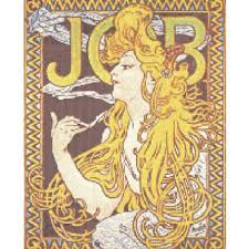 pattern art pdf counted cross stitch pattern art nouveau mucha job poster pdf cs0435
