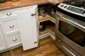 organize lazy susan base cabinet lazy susans in kitchen traditional with corner doors next to kitchen