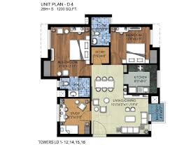 2 Bhk Floor Plans The Kove Floor Plans Call 9871856333 Jaypee Greens The Kove