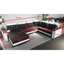 canape en u convertible canape d angle dimension maison design wiblia com