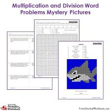 3rd grade multiplication and division word problem coloring