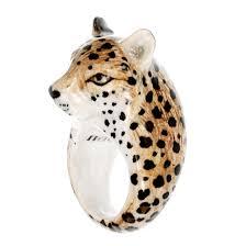 boucle d oreille leopard bague guépard b 01 nach bijoux