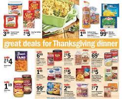 Thanksgiving Meal Deals Ad Thanksgiving Dinner Nov 24 2015