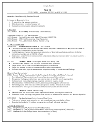 Homemaker Resume Example by Geriatric Clinical Resume Example Http Resumesdesign Com