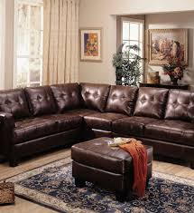 Leather Sectional Recliner Sofa by Brown Leather Sectional Sofa With Recliner Sofas U0026 Futons