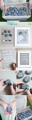 signing rocks wedding guest book simple diy simple diy guestbook and lava