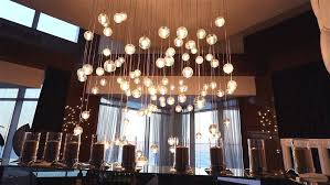 Glass Balls Chandelier Millions Of Glass Balls Millions Of Glass Beads Are Suspended On