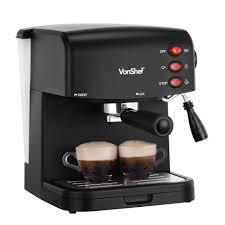 espresso coffee 15 bar espresso maker vonshef domu