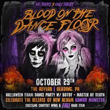blood on the dance floor home facebook