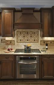 Backsplash Tile For Kitchen Ideas Best 25 Dark Stained Cabinets Ideas On Pinterest How To