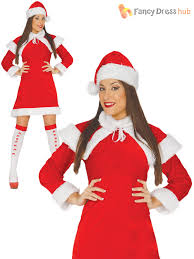 mrs santa claus costume mrs santa claus costume adults christmas fancy dress womens