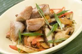 cuisine asiatique recette recette de subuta wok de porc à l asiatique épis de maïs et