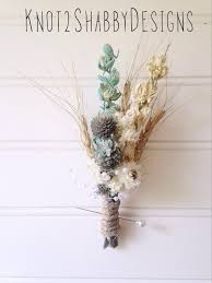 Shabby Chic Bridal Bouquet by Wedding Dried Bridal Party Bouquets Dried Flowers Shabby