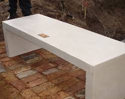cement table and bench forum bench large stonecast cast cement tables benches