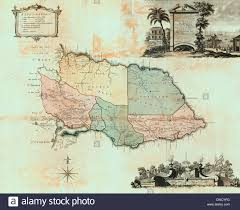 Map Jamaica This Map Of The County Of Surrey In The Island Of Jamaica Circa