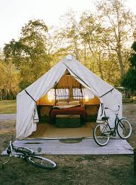 anyone can decorate glamping putting a bit of glamour in camping