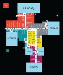 mall map of la plaza mall a simon mall mcallen tx