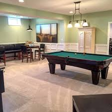 when you think of game room you get billiards table and bar top