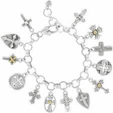 cross bracelet charm images Cross charm new 109 brighton purity cross charm bracelet jpg