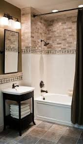 Good Example Of A Recessed Product Niche In Tile Which Keeps The - Bathroom tile design ideas pictures