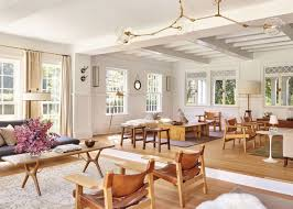 house tour modern neutrals fill a family u0027s hampton home coco