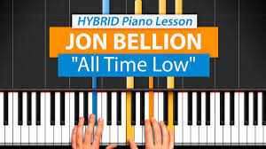 how to play all time low by jon bellion hdpiano part 1 piano