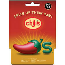 chili gift card it s a giveaway 25 00 chili s gift card coupons 4 utah