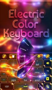 go keyboar apk go keyboard electric color theme 3 2 3 apk for android