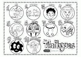 free printable coloring pages ten plagues coloring home