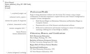 Teachers Resume Example Teacher Resume Template Teacher Resume