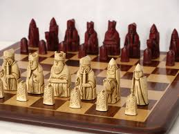 Ancient Chess Set The Isle Of Lewis Chess Set With Presentation Box Sac U2013 Chess House