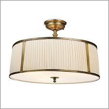 Brass Ceiling Lighting Semi Flush Brass Ceiling Lights Get Minimalist Impression Brain