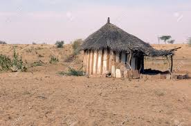 india thar desert traditional house circular architecture
